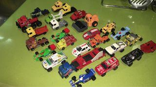 Coches y camiones a escala,miniaturas guisval.