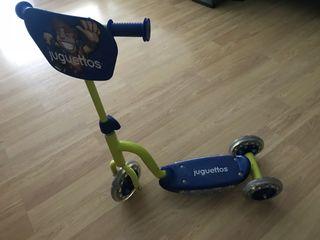 Patinete niños 3 ruedas