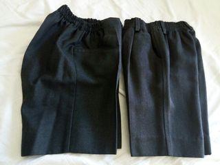 pantalones cortos gris uniforme colé
