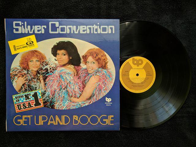 """Disco de vinilo """"Silver Convention"""""""