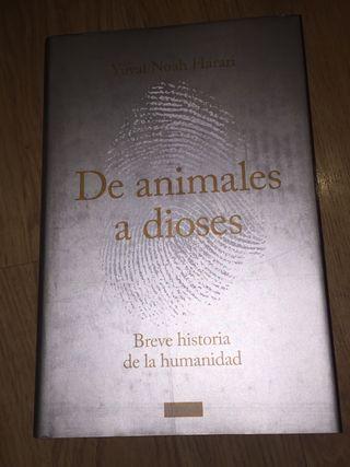 """""""De animales a dioses"""" Yuval Noah Harari"""