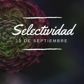 Inglés, Selectividad