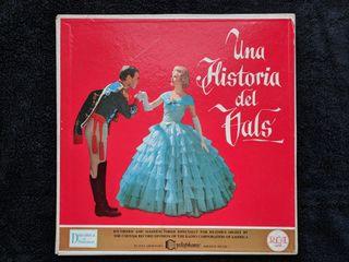 """Discos de vinilo x3 """"Una historia del Vals"""""""