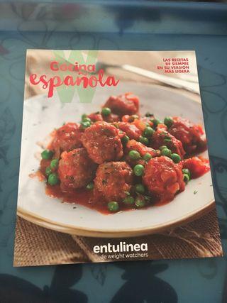 Libro Recetas cocina española dieta de los puntos