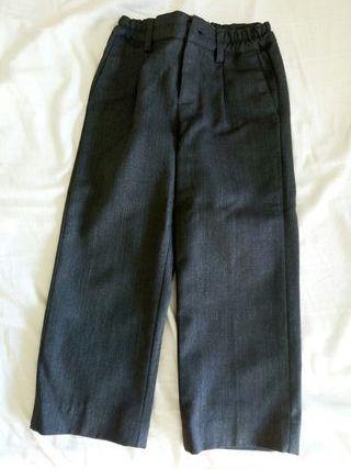 pantalon gris uniforme cole talla 2-3 niño
