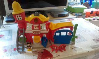 Estación bomberos Mickey