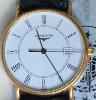 Reloj oro Longines