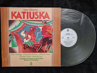 """Disco de vinilo """"Katiuska"""""""