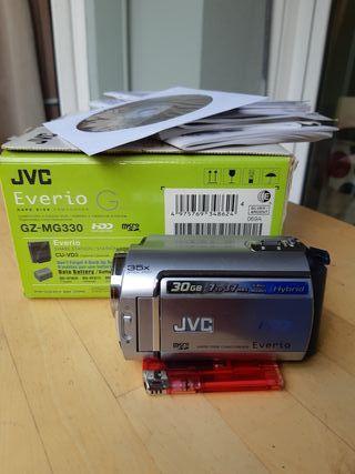 Camara video/fotos JVC Everio GZ-MG330