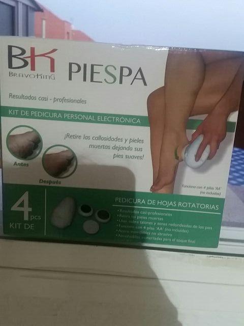 kit de pedicura personal electronica