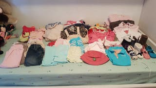Lote de ropa de bebé para niña de 6 a 18 meses