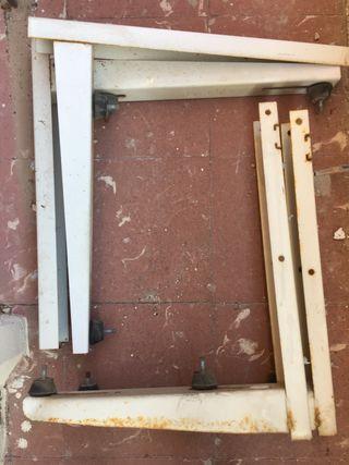 Garras soporte aire acondicionado