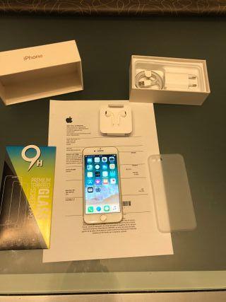 Iphone 7 128gb Oro LIBRE con factura