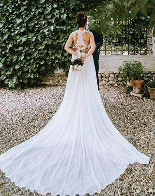 vestido de novia pronovias de segunda mano en zaragoza en wallapop