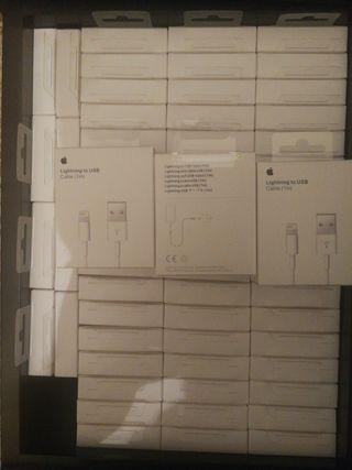 cables originales iphone lightning caja sellada.