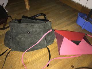 Bolso futurista y saco bolso
