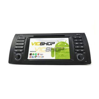Pantalla táctil radio navegador Android BMW E53