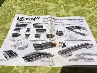 Catalogo Scalextric