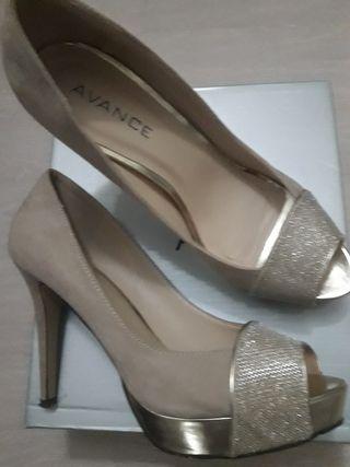 Zapatos de tacón mujer, AVANCE.