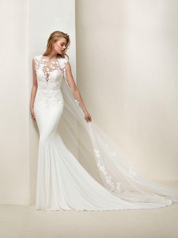 vestido de novia de pronovias de segunda mano por 600 € en colmenar