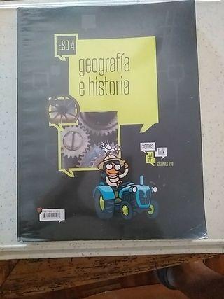 Libro Geografía 4° ESO