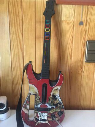 Guitarra Wii edición Metallica