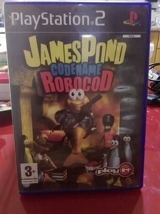ps2 jamespond codename robocod