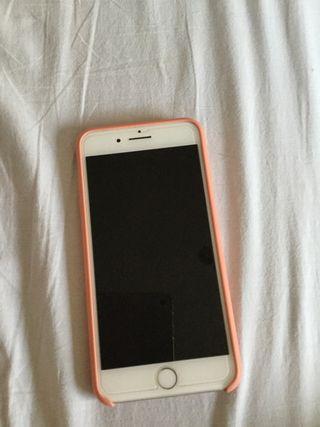 Vendo iPhone 7 Plus, plateado de 128 GB