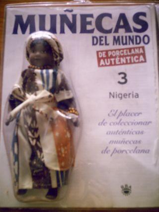 Muñecas porcelana 3 x 10 €