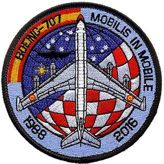 Parche Boeing 707.
