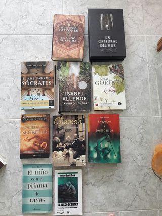 varios libros. buen estado. precio por unidad