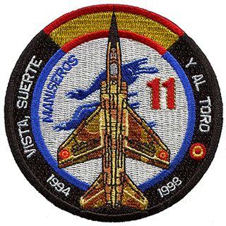 Parche Mirage F-1EDA ALA 11.