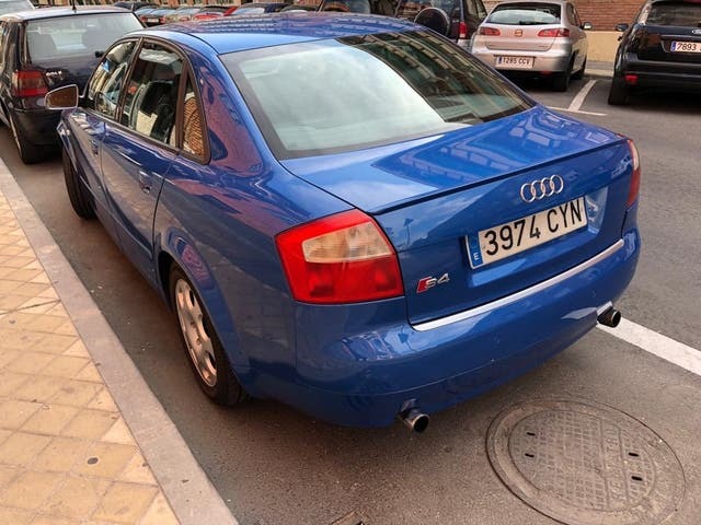 Audi A4 2004 sline quattro 185hp