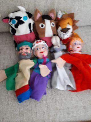 marionetas Caperucita roja