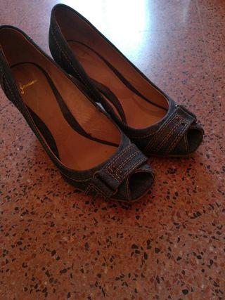 zapatos tejanos