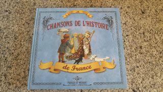 Libro canciones de la historia de Francia