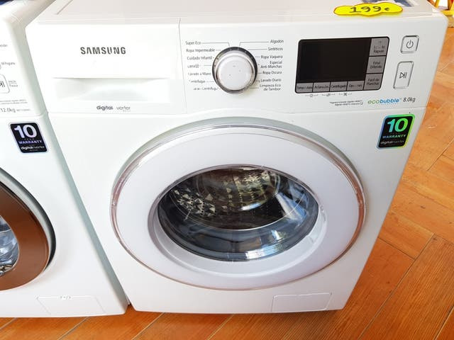 Lavadora Samsung 8 K 1400 Rpm A+++ GARANTIA Llevo