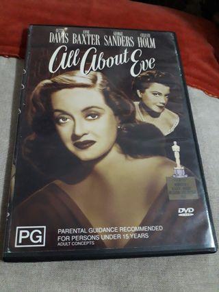 """Bette Davis """"All about Eve"""" DVD"""