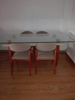 conjunto mesa comedor