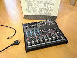 Mesa de mezclas 6 canales ¡NUEVA! - t.mix 1202FX