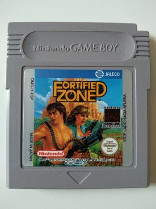 Fortified Zone Game Boy