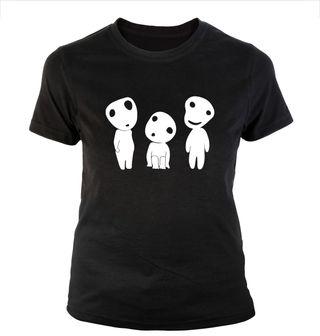 Camiseta KODAMAS diferentes diseños Nueva