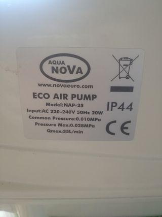 compresor aireador acuarios