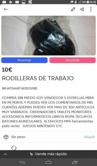 RODILLERAS DE TRABAJO