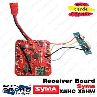 Placa Receptor Syma X5HC X5HW PCB Receiver Board S