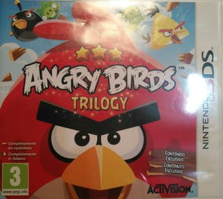 Juego 3DS - Angry Birds Trilogy