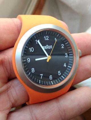 ENVIO-rel reloj braun naranja