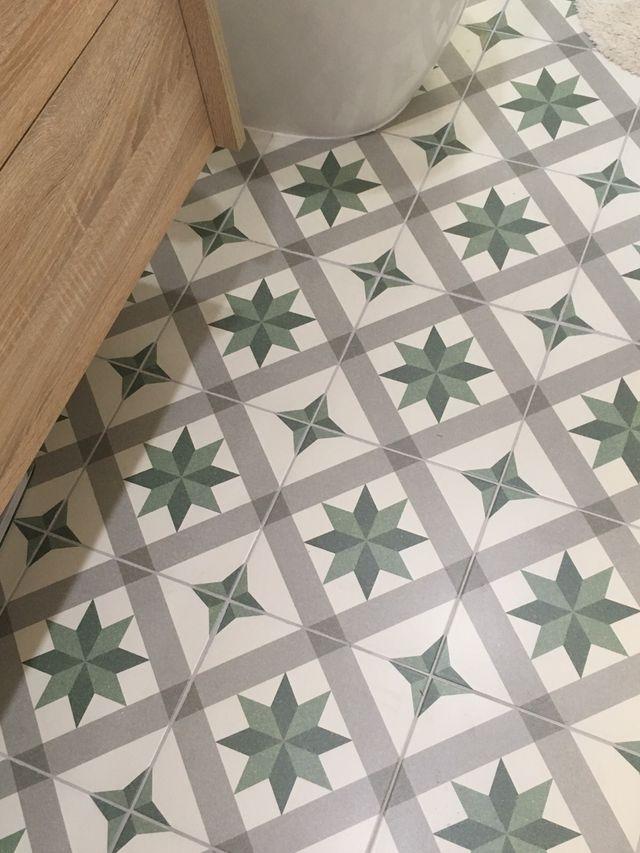 Baldosa azulejo hidráulico