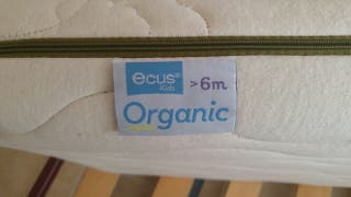 Colchón Cuna Ecus Kids Organics