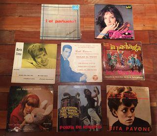Lote de 8 discos de vinilo